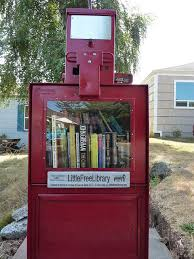 What a great use for a recycled newspaper box.