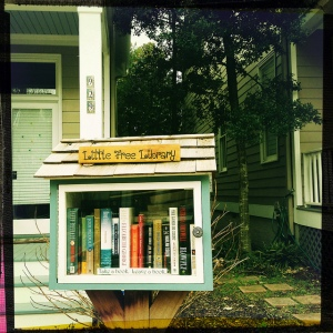 A great way to get books to kids,meet your neighbors, and have something to read at a moment's notice!
