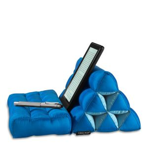 A resting spot for a reader or tablet.