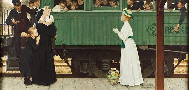 Rockwell orphan train