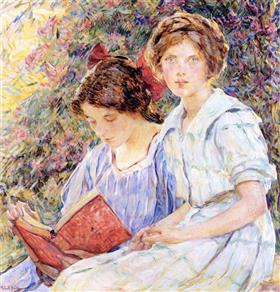 Reid_-_two-women-reading